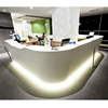 Custom High Quality Office Reception Desk For Sale