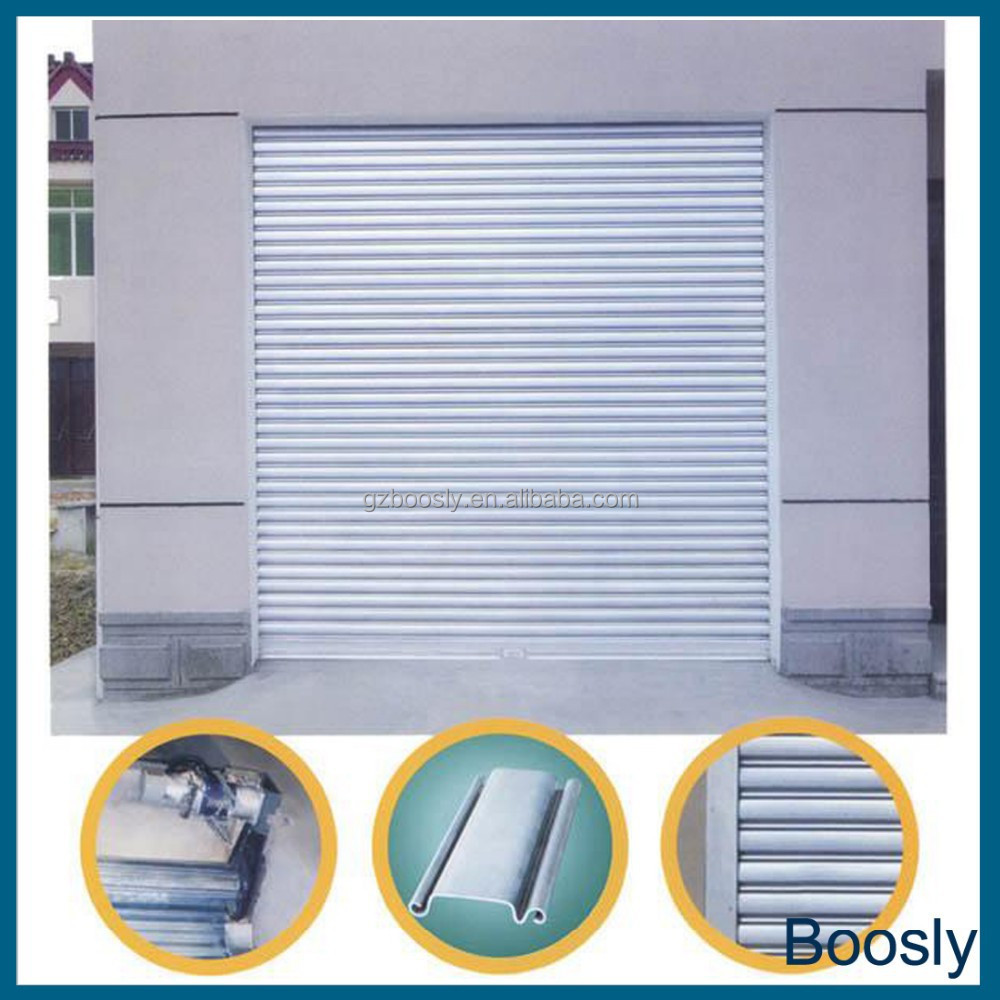 aluminum alloy electric roller shutter and window
