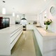 High gloss modern mini custom kitchen designs