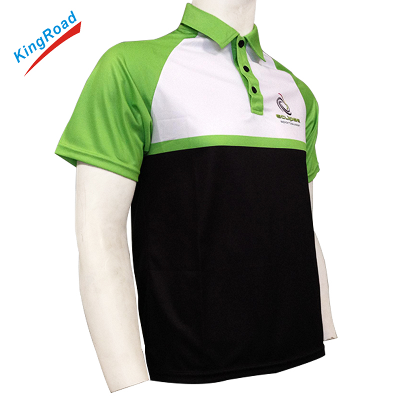 China custom sublimated dry fit mens polo golf shirts manufacturer