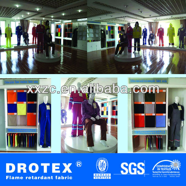 Free sample EN 13034 TC 240gsm 3/1 twill chemical acid & alkali resistant coated fabric