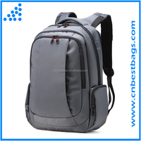 Waterproof Briefcase Business Laptop Backpack Anti-theft Computer Bag 15.6 Dark Gray