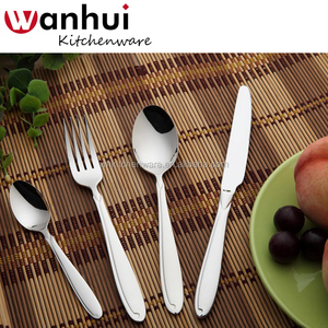 Low MOQ And Short Delivery Date Hotel Flatware 4 PCS Stainless Steel Inox Cutlery Set