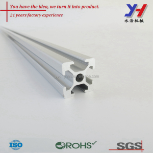 OEM ODM ISO9001 Certified Custom Made Aluminum Working Table Framing Profile for Dust Free Room