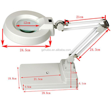 5x 10x 15x 20x magnifier <span class=keywords><strong>lampada</strong></span> migliore, laboratorio magnifier desktop magnifier lamp