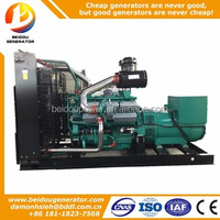 Ce approved 350kw small silent diesel generator set