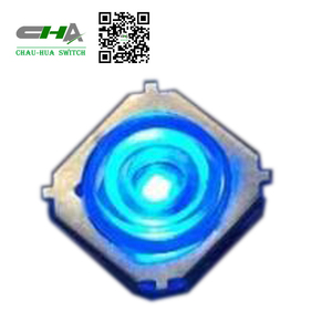 CHA factory 28V 10mm illuminated tact switch with led