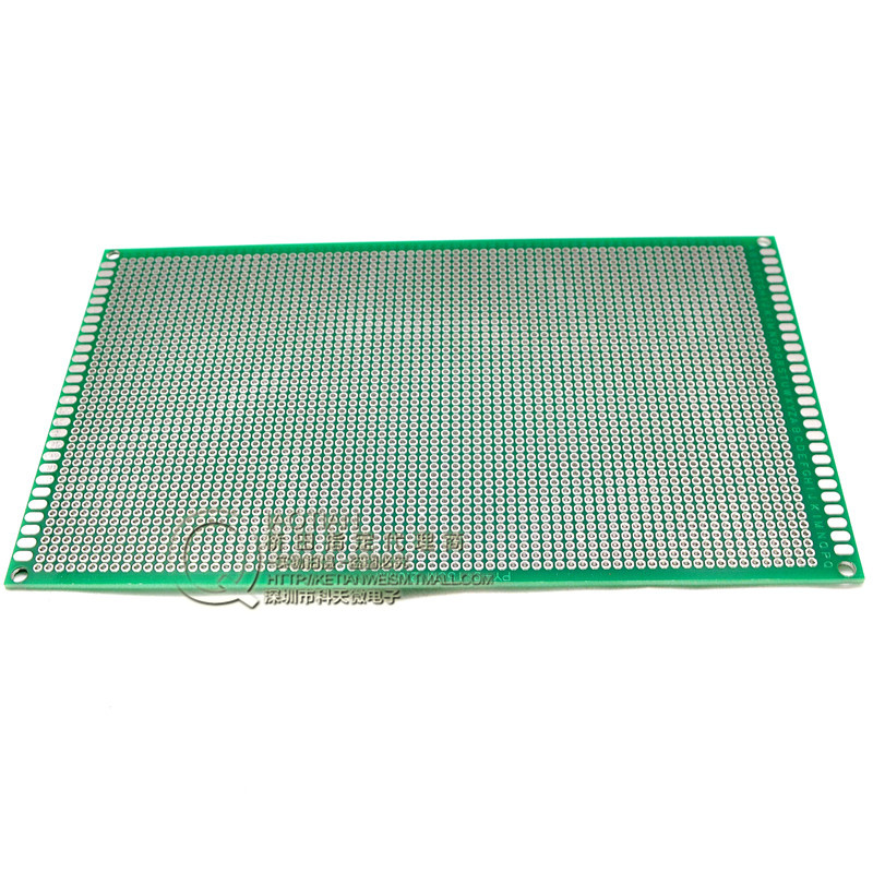 20pcs / lot 9 * 15CM 1.6 2.0 thick pitch -sided spray tin universal board universal board test board tunnel