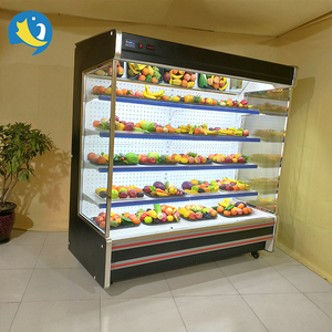 High Quality Wholesale Custom Cheap size optional commercial multideck retail store cooler supermarket refrigerated cooler