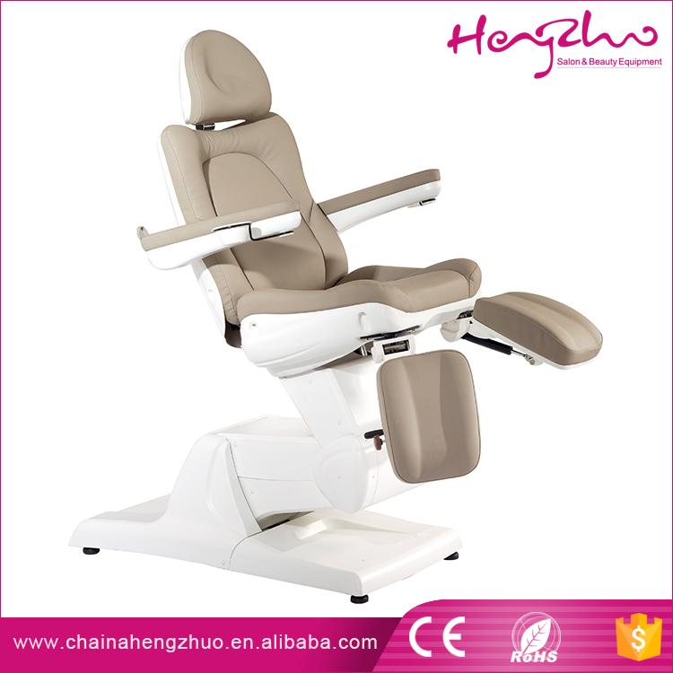 Mejor venta de ajuste tratamiento cosmético silla de alta calidad 3 motores eléctricos belleza cama