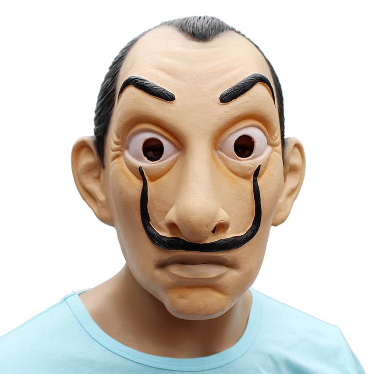 Hotselling DALI style lattice mascherina del partito per cosply