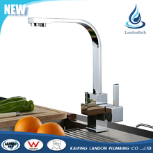 Customized Dropshipping elegant artistic hot water kitchen faucet mixer tap
