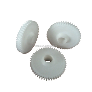 100mm black plastic internal spur gears