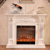 GSP15-005 Luxury Wood Fireplace Mantel Indoor Electric Firepalce Mantel