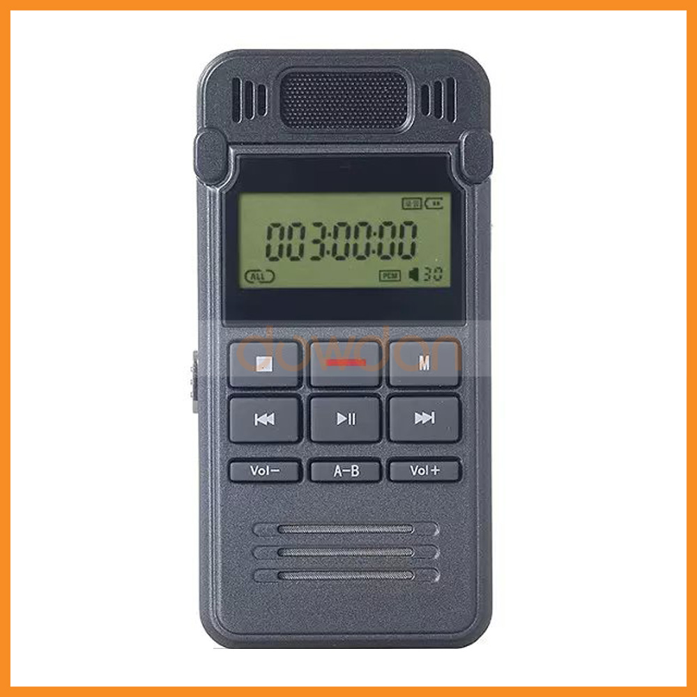 High Speed USB 2.0 Voice Activated Line In Digital Voice Recorder