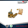 Brass thermostat gas valve for oven and gas cooker
