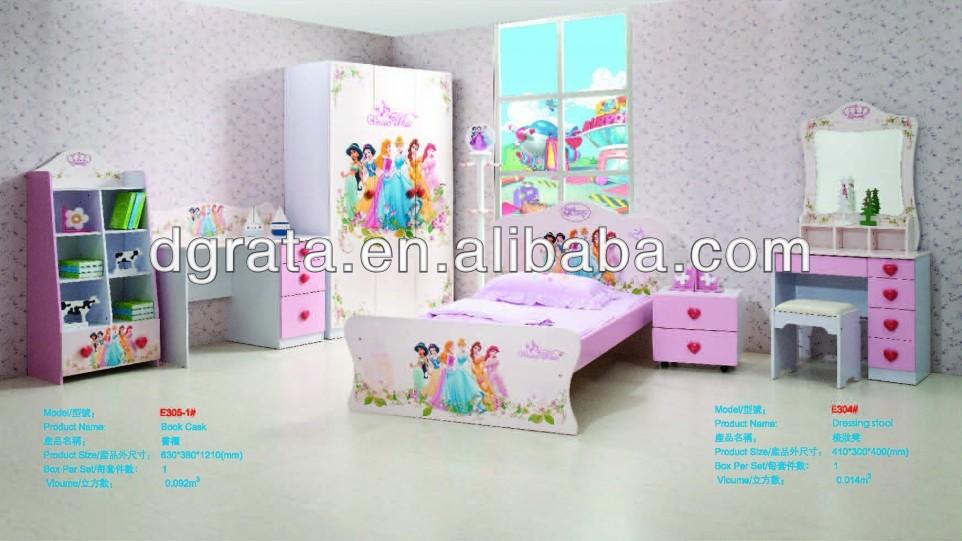 de de de Blanche de design Neige série mobilier peinture protection était fou bord Princesse MDF l'environnem chambre 2014 E1 et RL435Aj