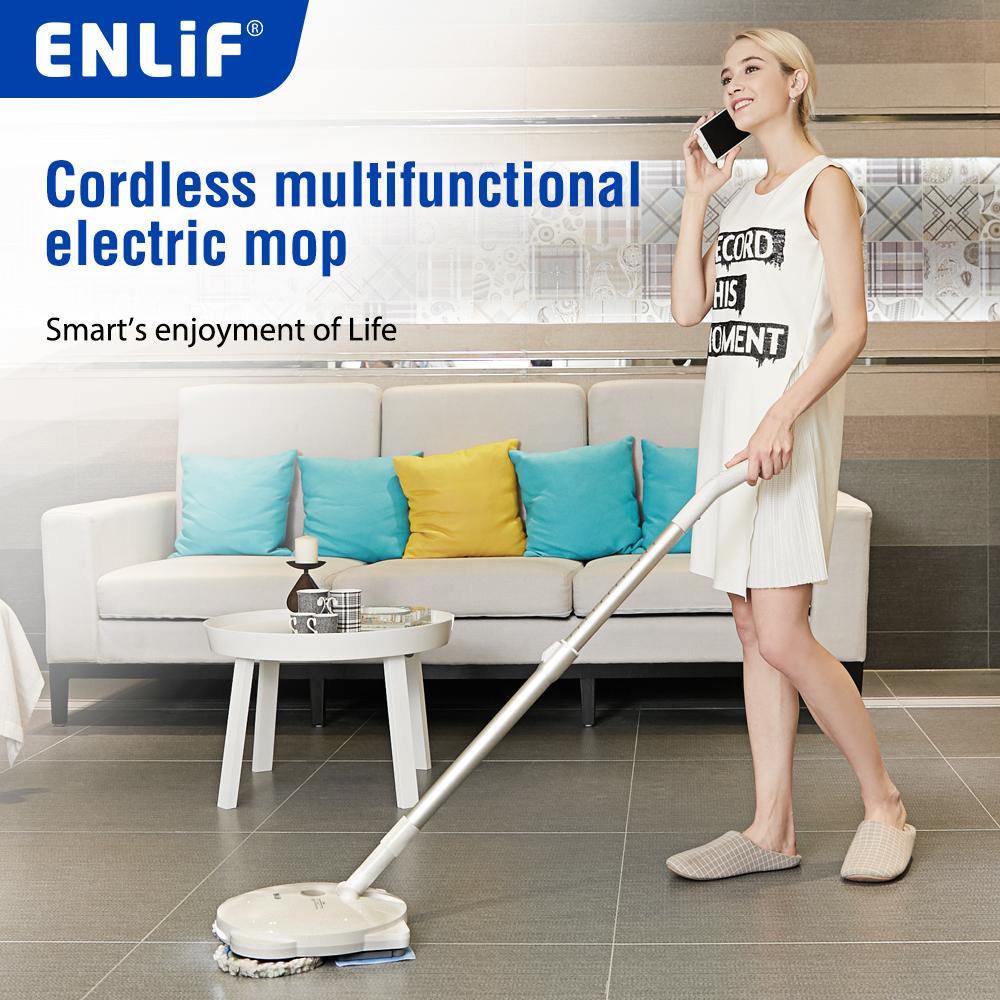 ENLiF atv rotary pet monofilamento di paglia mop per la pulizia dei pavimenti scopa