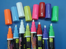 Highlighter felt tip pen 5mm bullet / Regular Tip erasable marker for Board/glass/Window/Cup Enviroment friendly