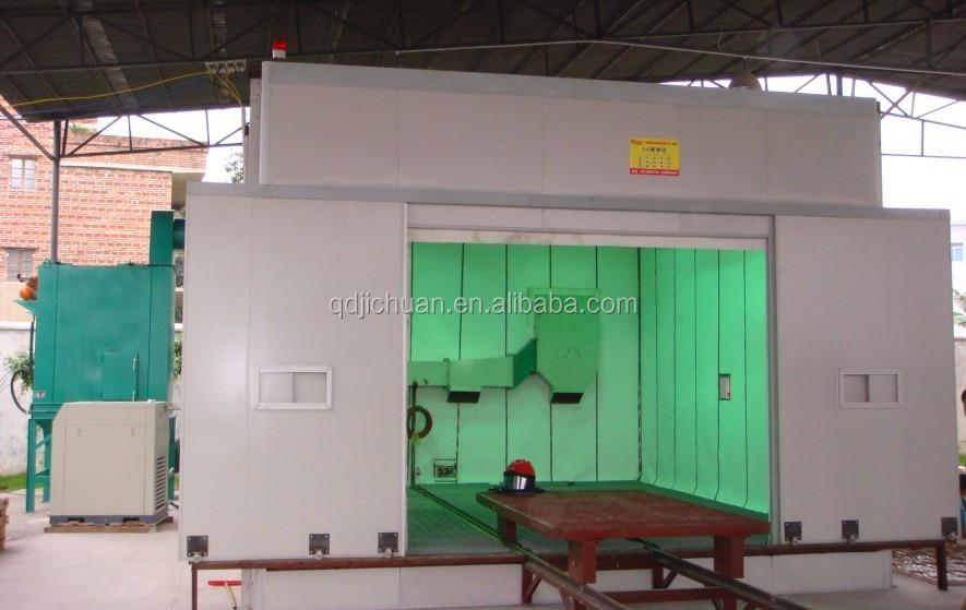 Sand Blasting Room Shot Blasting Cabinet For Sale Shandong ...