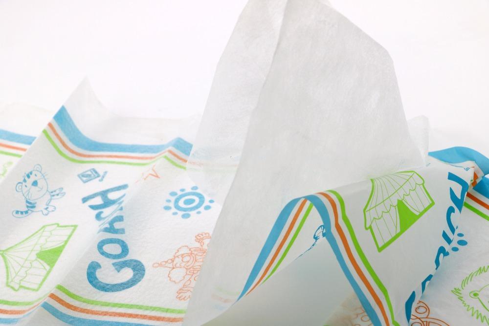 Китай Производители горячая Распродажа дышащие PE одноразовые взрослые/детские подгузники задний лист пленка сырье дышащая ткань как пленка