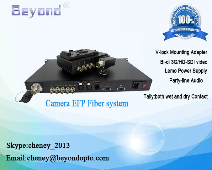 HD-SDI video Production to fiber optic cables,optical OB-Van HD-SDI video fiber converter