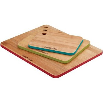 Farberware 3 Piece Bamboo Cutting Board Set With Color Edges Buy