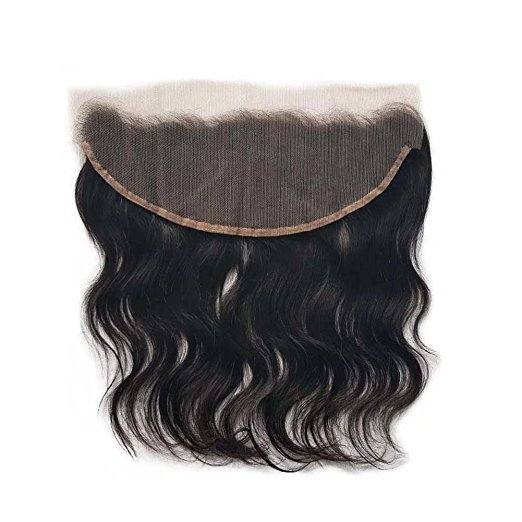 Wholesale cheap unprocessed virgin Brazilian body wave hair weave 13x4 ear to ear lace frontal with bundles