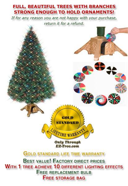 EZ-Change Fiber Optic Christmas Tree - Ez-change Fiber Optic Christmas Tree