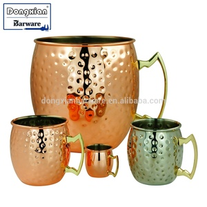 Moscow Mule Mug Oversized Copper Plated Moscow Mule Party Mug Beer Cup 5L and 3L Big size, Large, 500ml, 350ml, 60ml mini size.