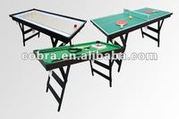 Korea 3 in 1 multi-game Table with different function for kids