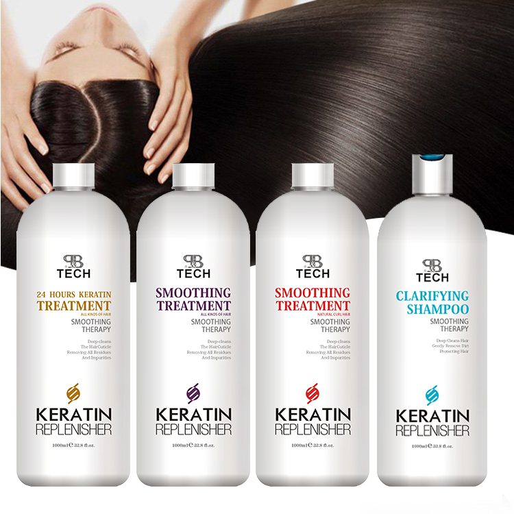 2019 trending products brazilian straightening hair care kit hair keratin treatment