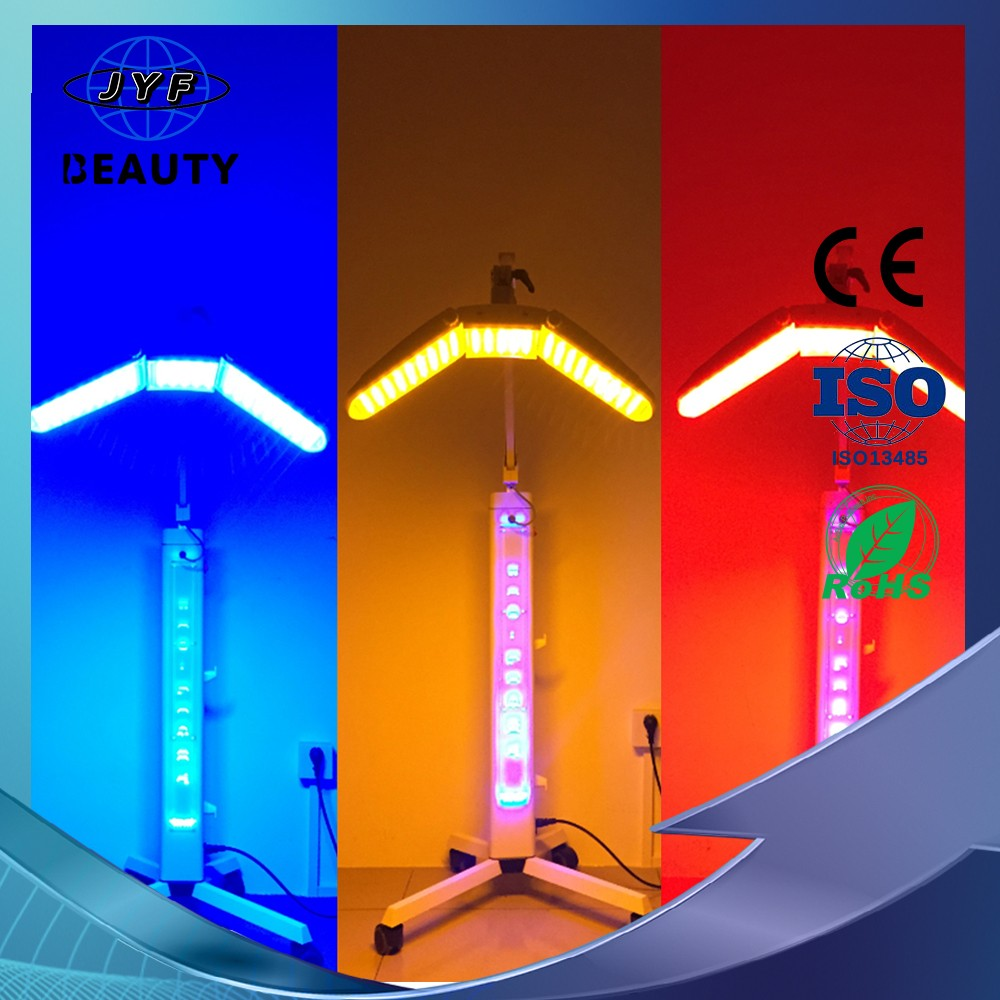 high quality bio light facial treatment skin care near infrared light therapy LED photon phototherapy machine
