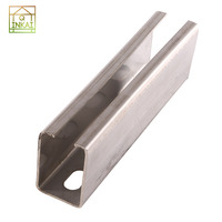 Customized High Quality prices aluminum c channel sizes