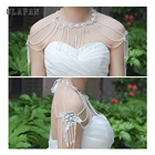 wedding accessories shawl Beads pearl flower wedding cape for women bridal cape