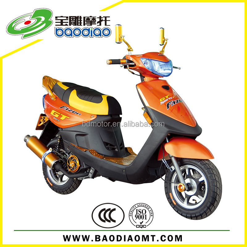 Customized Moped Street Bike Chinese Cheap 4 Stroke Engine Gas ...