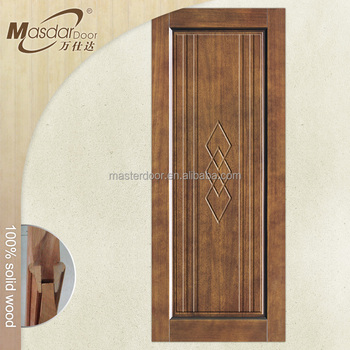 wooden decorative pattern interior single door design for indian home
