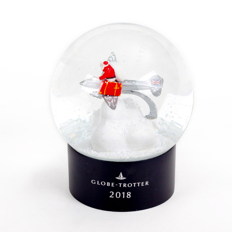 High Quality Custom Christmas Crystal Snow Ball Souvenirs Brand Gifts Plastic ABS Base Christmas Tree Decoration Snow Globe