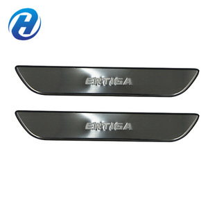 Stainless Steel Exterior Accessories Anti-scratch Moving Car Door Scuff Sill Plate