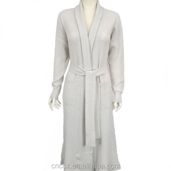 16stc5108 Luxury Cashmere Dressing Gown - Buy Cashmere Dressing Gown ...