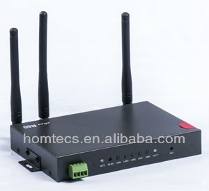 unlock wireless router with 3G GSM Dual SIM Card for ATM, POS, Kiosk H50series