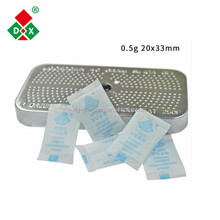 40g Moisture proof beads silica gel by plastic box/Tin box