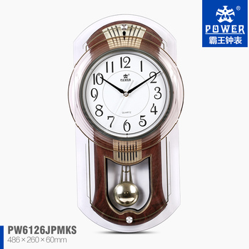 Plastic Glass Craft Pendulum Wall Clock Models For Different Types Of Clocks  With 8 Music Sweep