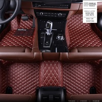 China 5D Factory Car Mats Carpet Red compatible with Duster