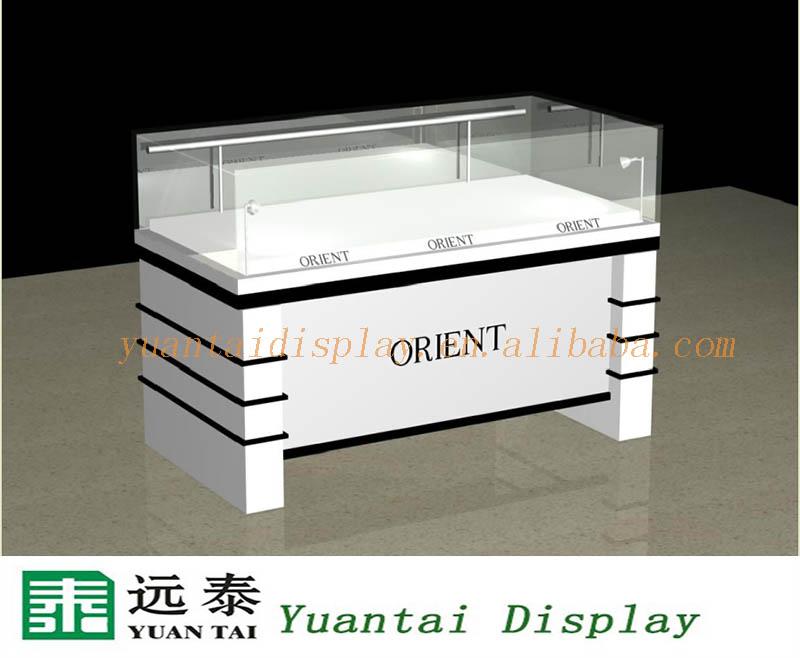 Modern Design Wood Shop Display Counter