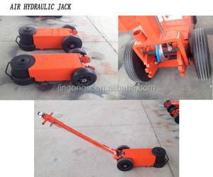 Best price 100ton hydraulic car heavy bottle jack pneumatic hydraulic floor  jack