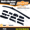 Auto parts manufacturers, 11 adaptors multifunctional wiper blade auto parts wholesale