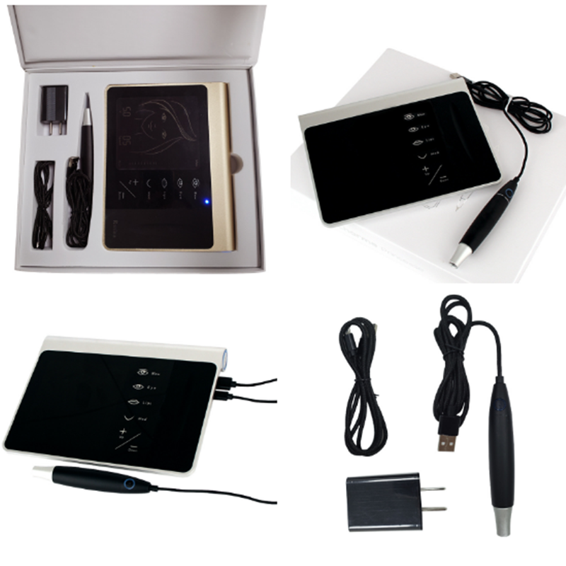 Best Selling Professionele Digitale Draagbare Permanente Make-Up Machine voor Wenkbrauw Lippen Tattoo Micro blading Pen