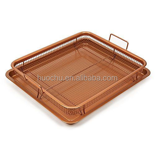 Copper Crisper As Seen On Tv New Free Ship Gotham Steel Pan