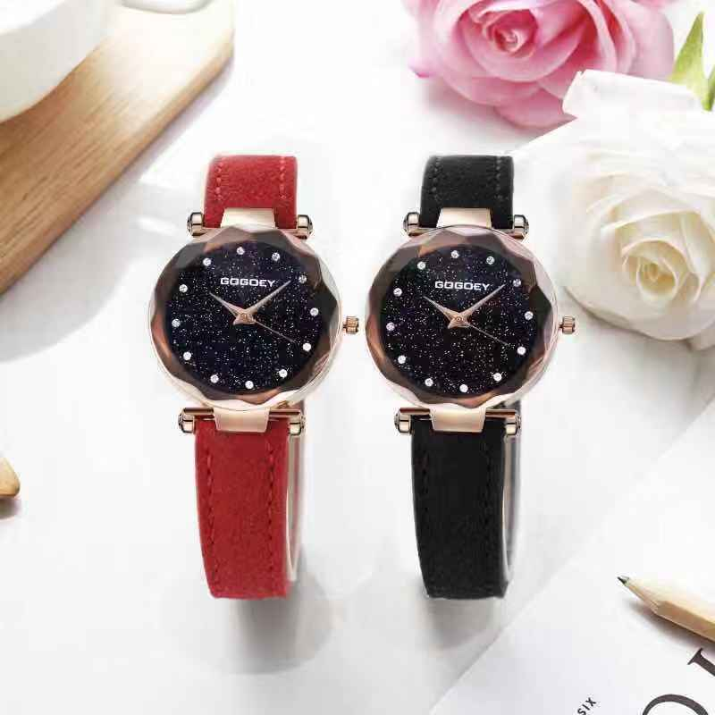 2018 New Diamond Ladies Fashion Quartz Modern Dripping Matte Watches